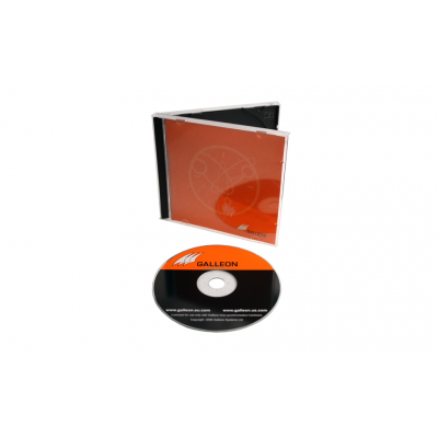 Front view of Broadcast SNTP Client Software CD