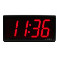Inova four digit PoE network clock
