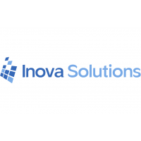 Synchronised digital wall clock Inova Solutions