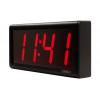 Inova four digit ethernet digital wall clock