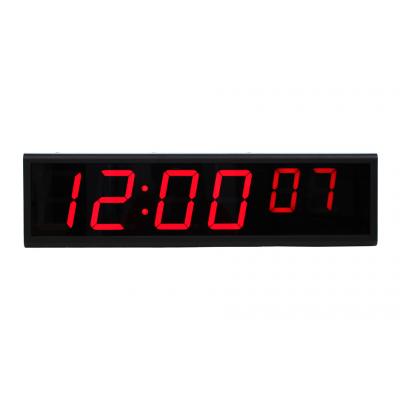 Synchronized ethernet NTP digital wall clock