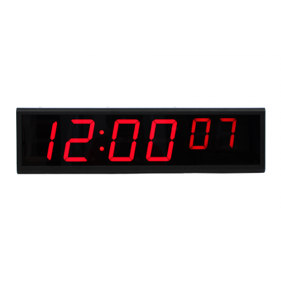 6 digit LED PoE clock