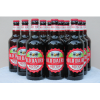 UK bottled beer exporters, Old Dairy Brewery craft beer - 3.8% Red Top