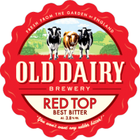 Red Top by Old Dairy Brewery, British best bitter distributor