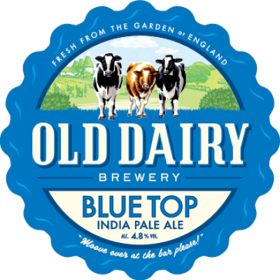 Blue Top by Old Dairy Brewery, British Pale Ale Distributor