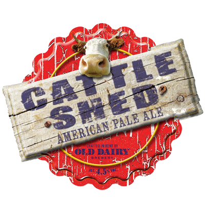 Cattle Shed by Old Dairy Brewery, British American Pale Ale Distributor