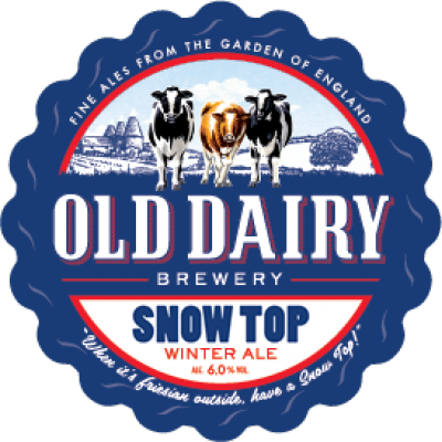 Snow Top by Old Dairy, british winter ale distributor