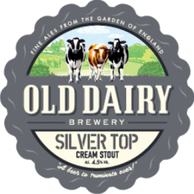 Silver Top: Silver Top by Old Dairy Brewery, British Cream Stout Distributor