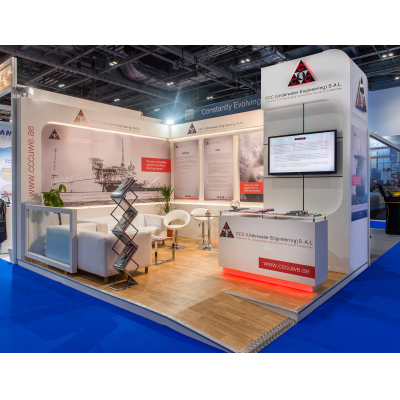 MJ Exhibition contractor Stand at show