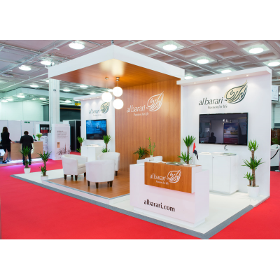 Modular Exhibition stands at a show