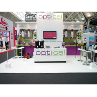 One of our Bespoke exhibition stands at a show