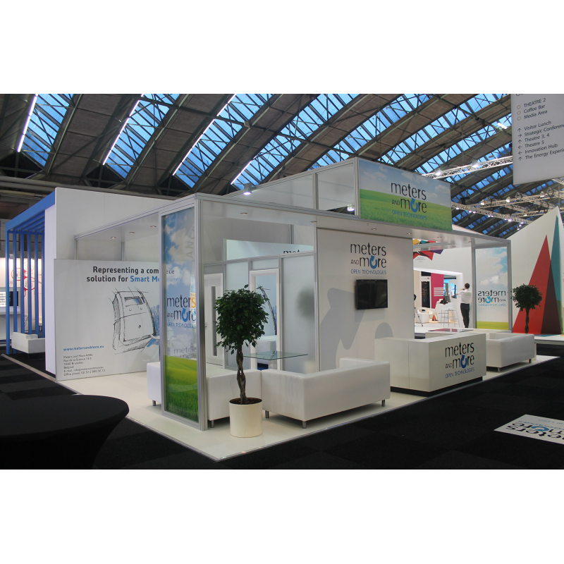 International exhibition stand design ideal for overseas for Design de stand