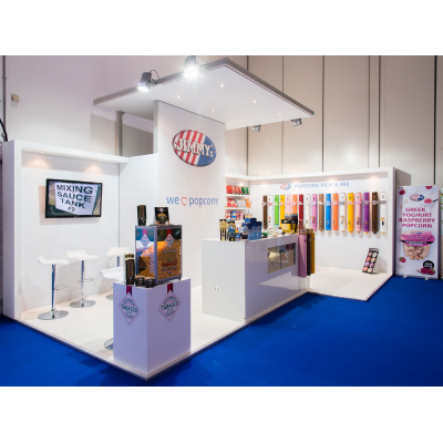 Exhibition stand design at a show