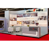 Exhibition stand contractors at a show
