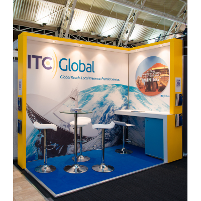 Exhibition Stands London showcasing at a London show