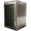 Waterproof rack mount cabinet with servers