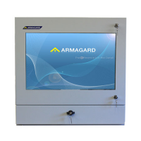 Industrial computer workstation from Armagard