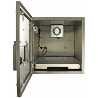 Waterproof printer enclosure from Armagard