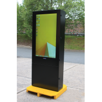 Armagard outdoor digital display right view