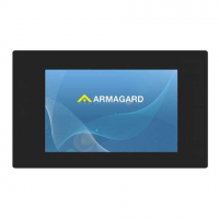 LCD advertising display from Armagard front view