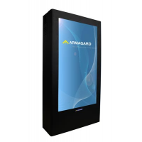 Portrait Flat Panel Enclosure