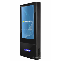 Armagard outdoor digital totem