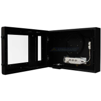 LCD Monitor Enclosure open view of unit