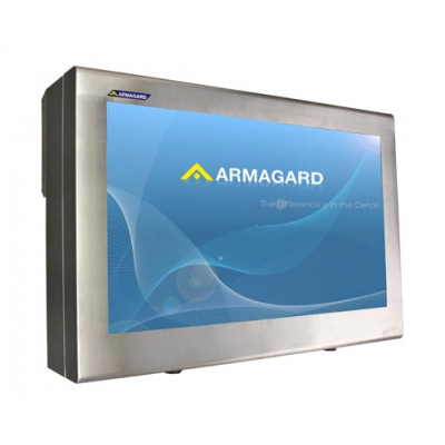 Outdoor tv enclosure from Armagard