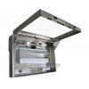 Waterproof LCD Enclosure left view open