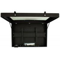 Plasma Enclosure front view of unit with door open