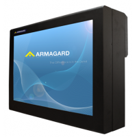 Outdoor digital signage enclosures right view