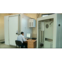 Industrial enclosure manufacturer environmental testing chamber.