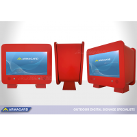 Armagard's petrol pump topper is being shown at integrated systems europe 2020.
