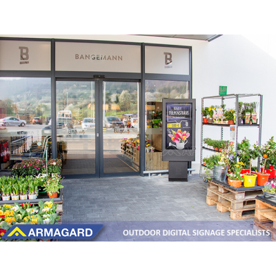 See Armagard's outdoor screen enclosure in use at ISE Amsterdam.