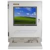 Industrial LCD monitor wedge keyboard