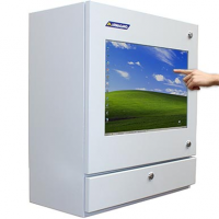waterproof touch screen enclosure