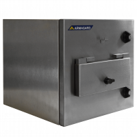 Armgard's stainless-steel, clean room printer enclosure.