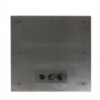 Rear view of the Armagard clean room printer enclosure.