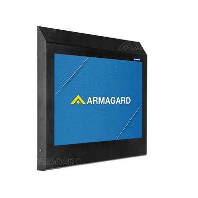 Armagard's anti-ligature TV cabinet protects a TV in high-risk locations.