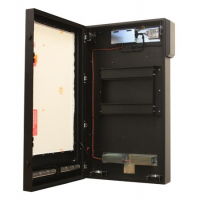High Bright portrait enclosure with door open