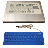washable keyboard options intergrated or stand-alone