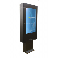 qsr outdoor digital signage right view