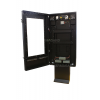 qsr outdoor digital signage enclosure door open