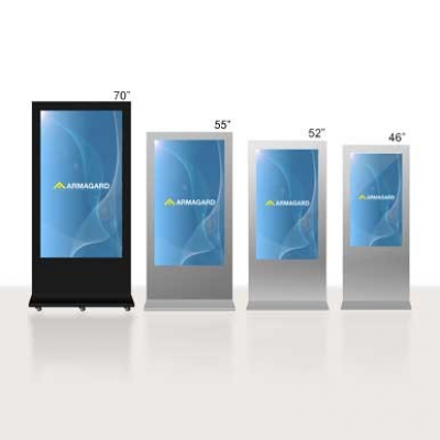 LCD digital signage from Armagard