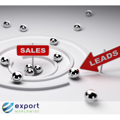 By selling online overseas, you boost lead volume.