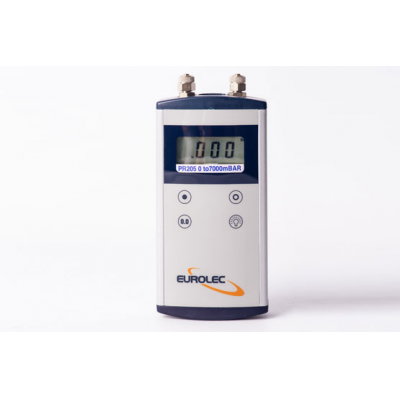 Eurolec portable digital manometer