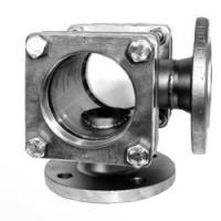 Omega valves sight glass