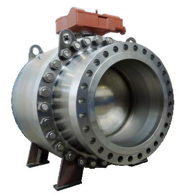Trunnion ball valve types
