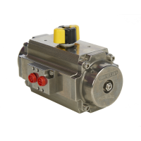 stainless less pneumatic actuator