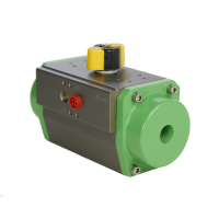 green pneumatic actuator